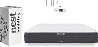 product image for FLIP by Nest Bedding, Exclusive Double Sided Hybrid Bed in a Box, Cooling Gel Foam and Caliber Coil, CertiPUR-US, Made in The USA