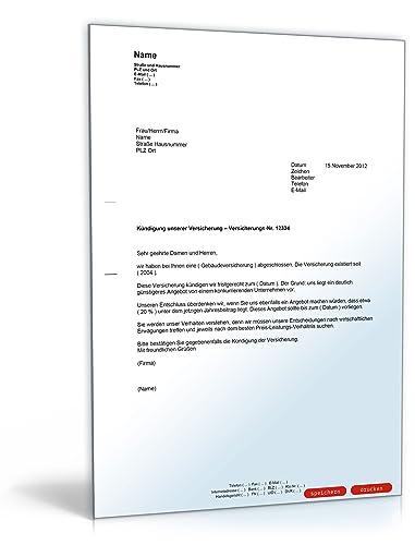 Kündigung Einer Versicherung österreichisch Pdf Download Amazon