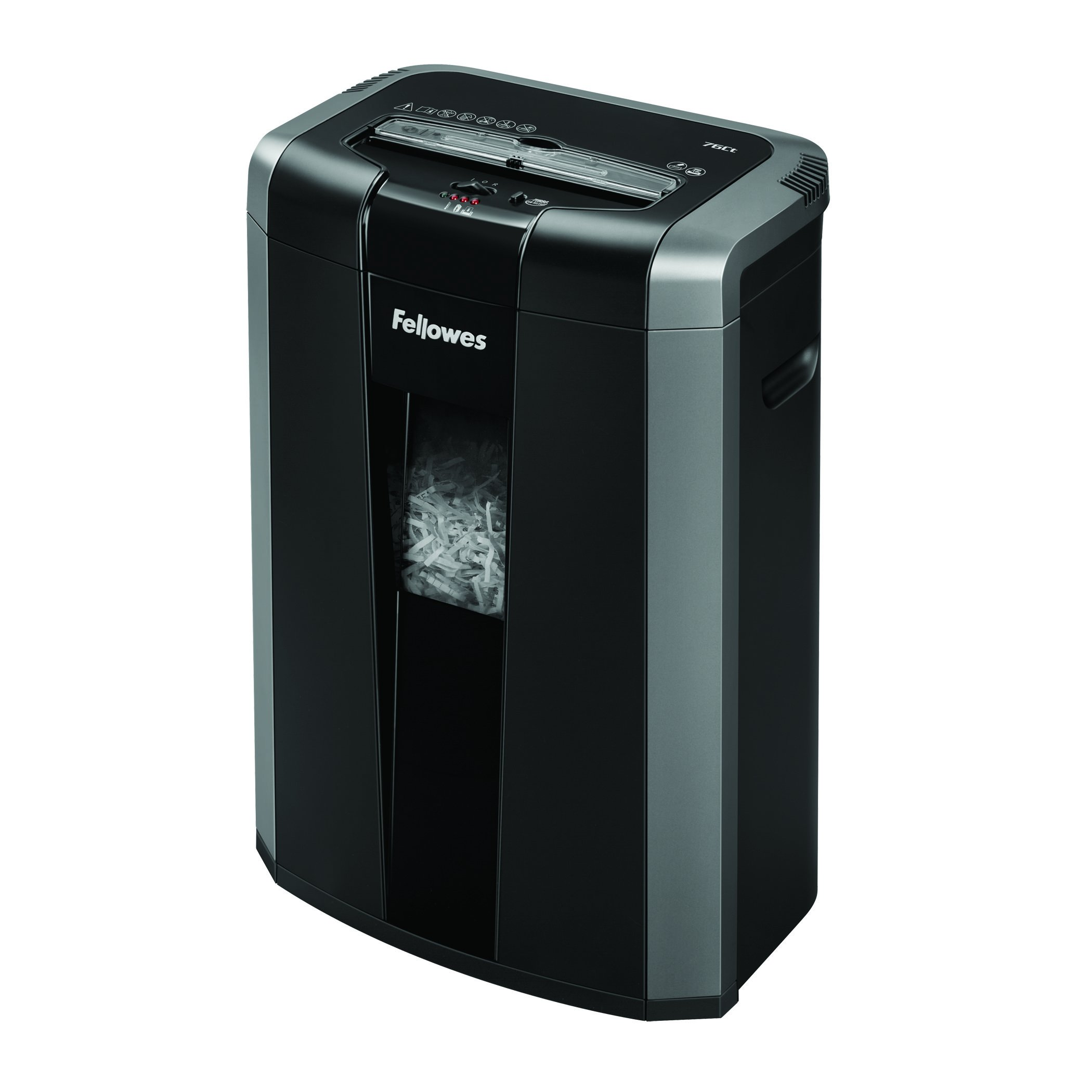 Fellowes Powershred 76Ct 16-Sheet Cross-Cut Heavy Duty Office Paper Shredder with Jam Buster (4676001) by Fellowes