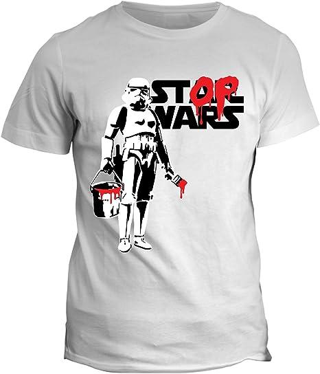 fashwork Tshirt Star Wars Stormtrooper Stop Wars Humor – Film Cult ...