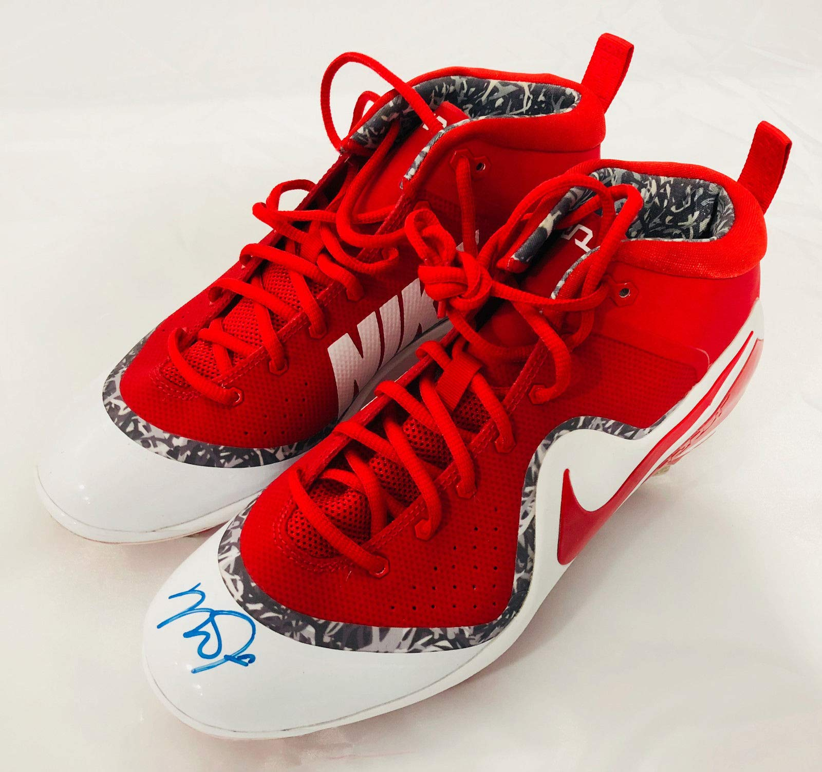 Mike Trout Los Angeles Angels Signed Autographed Nike Game Model Cleats MLB