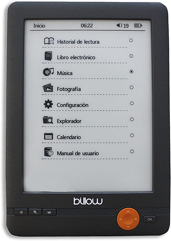 Billow E03E lectore de e-Book - E-Reader (E Ink, 800 x 600 Pixeles ...