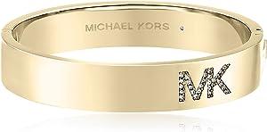 Michael Kors MK Pave Logo Bangle Bracelet