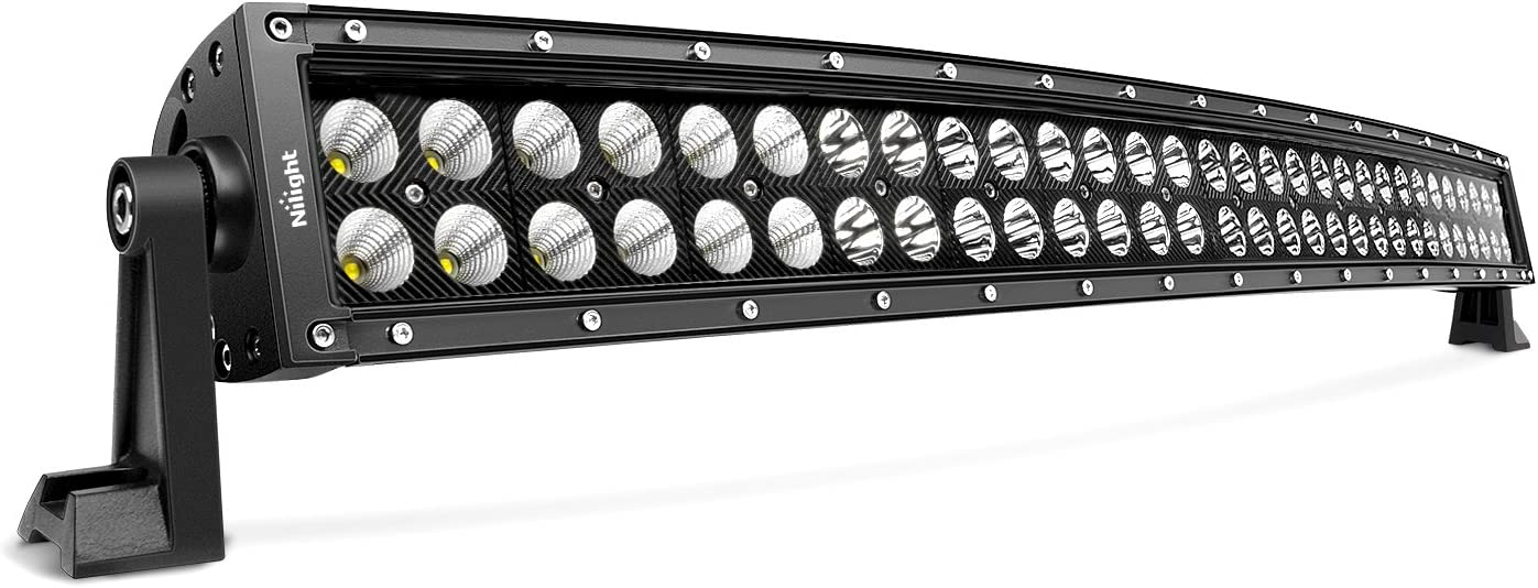 """Nilight 32"""" 180W Spot Flood Combo High Power LED Driving Lamp LED Light Bar Off Road Fog Driving Work Lights for SUV Boat Jeep Lamp,2 Years Warranty: Automotive"""