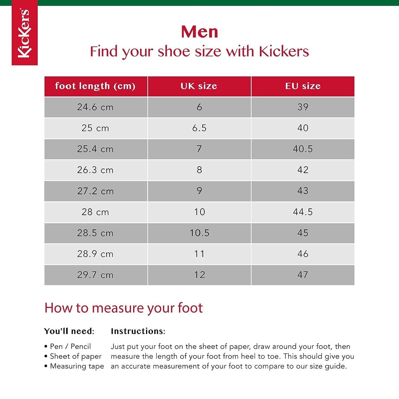 Kickers Troiko Boot, Botines para Hombre, Negro (Black), 43 EU: Amazon.es: Zapatos y complementos