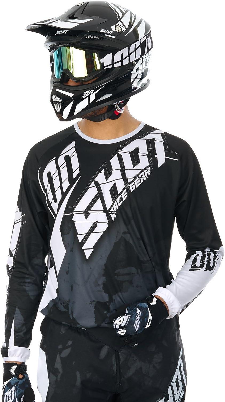 Maillot Motocross Shot 2017 Devo Squad Noir Xl , Noir