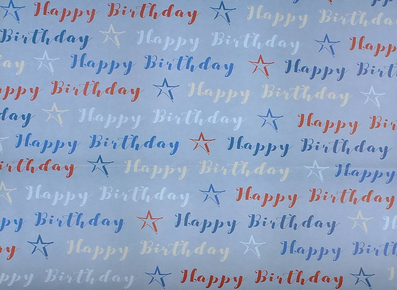 sheets male blue white red happy birthday stars wrapping 2 sheets male blue white red happy birthday stars wrapping paper 1 gift tag amazon co uk kitchen home