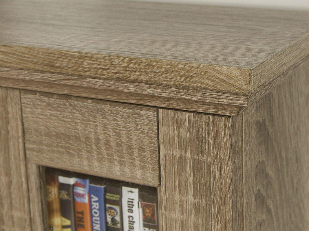 WE Furniture 41'' Wood Media Cabinet - Driftwood by WE Furniture (Image #2)