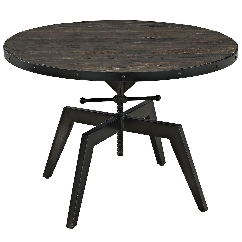 Amazon Modway Grasp Wood Top Coffee Table Black Kitchen