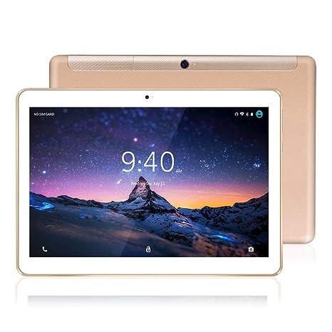 Tablet 10 Pulgadas 4G LTE WiFi BEISTA-Tableta Android 9.0,4GB RAM 64GB Memoria,2GHz CPU de alta velocidad,Ocho nucleos,GPS Tpye-C,Dobles SIM y ...