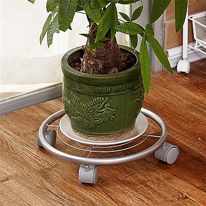 Jardineras circulares de hierro jardn bastidores de hierro base de