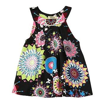 Oyedens Nuovo Bambino Ragazze Vestiti da Cerimonia Partito dei Capretti dei  Bambini del Vestito da Principessa ddf77a2a2bd
