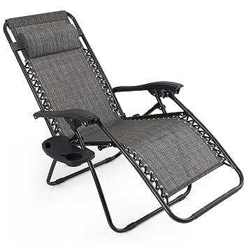 Amazon.com: 2pcs. Salón de billar plegable de sillones Zero ...