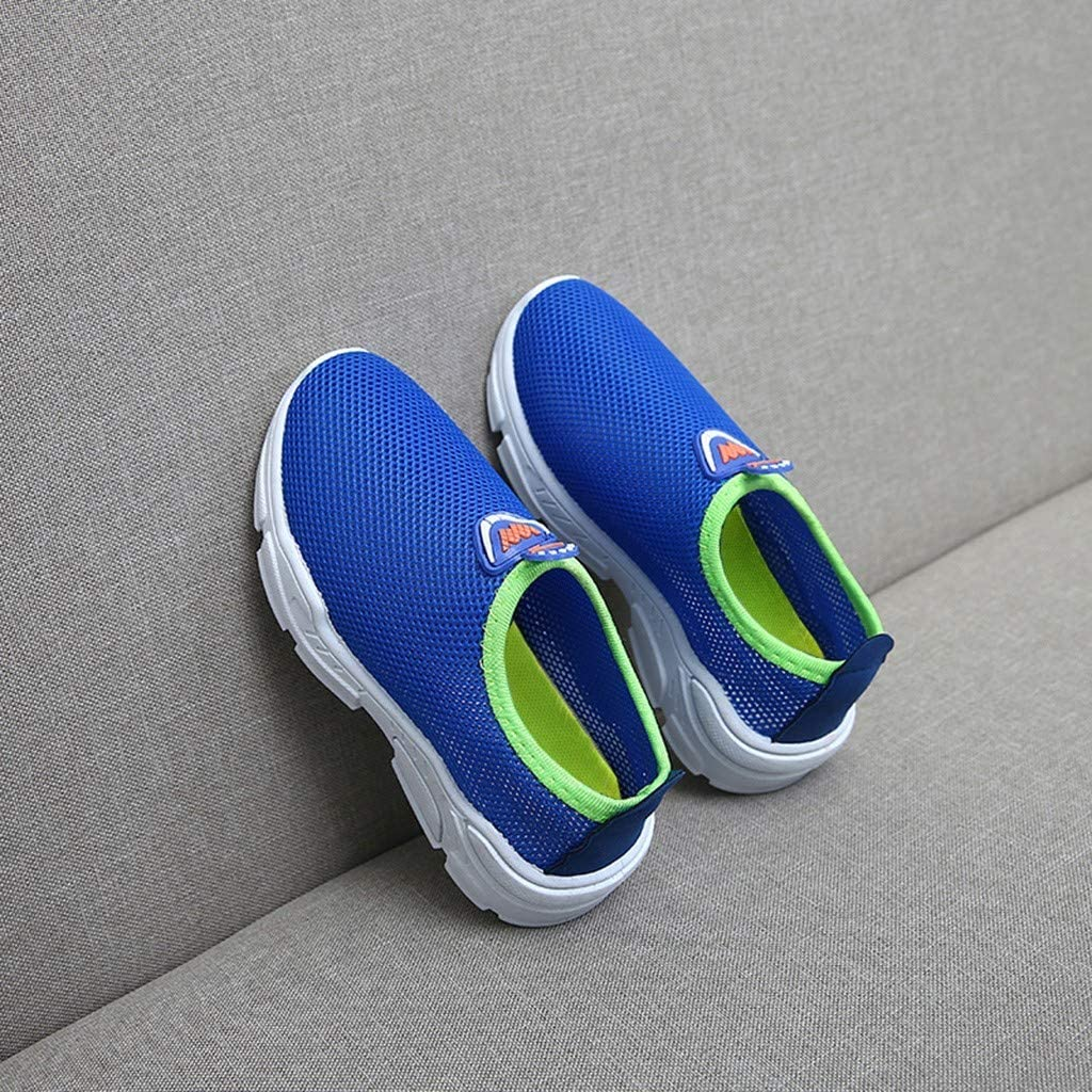 Dorical Toddler Kids Water Shoes Breathable Mesh Running Sneakers Sandals for Boys Girls Running Pool Beach