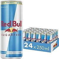 Red Bull Energy Drink Sugar Free 24 Pack of 250 ml