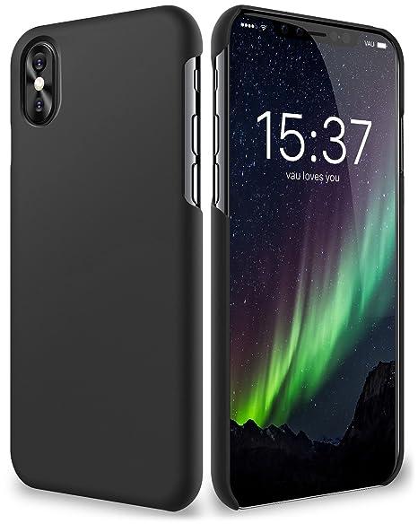 coque noir mat iphone x