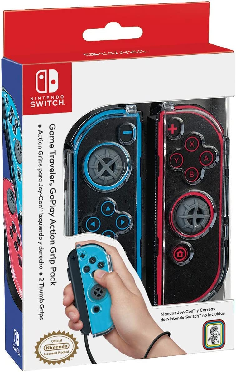 Ardistel - GoPlay Game Traveler Action Grip Pack NNS2 (Nintendo Switch): Amazon.es: Videojuegos