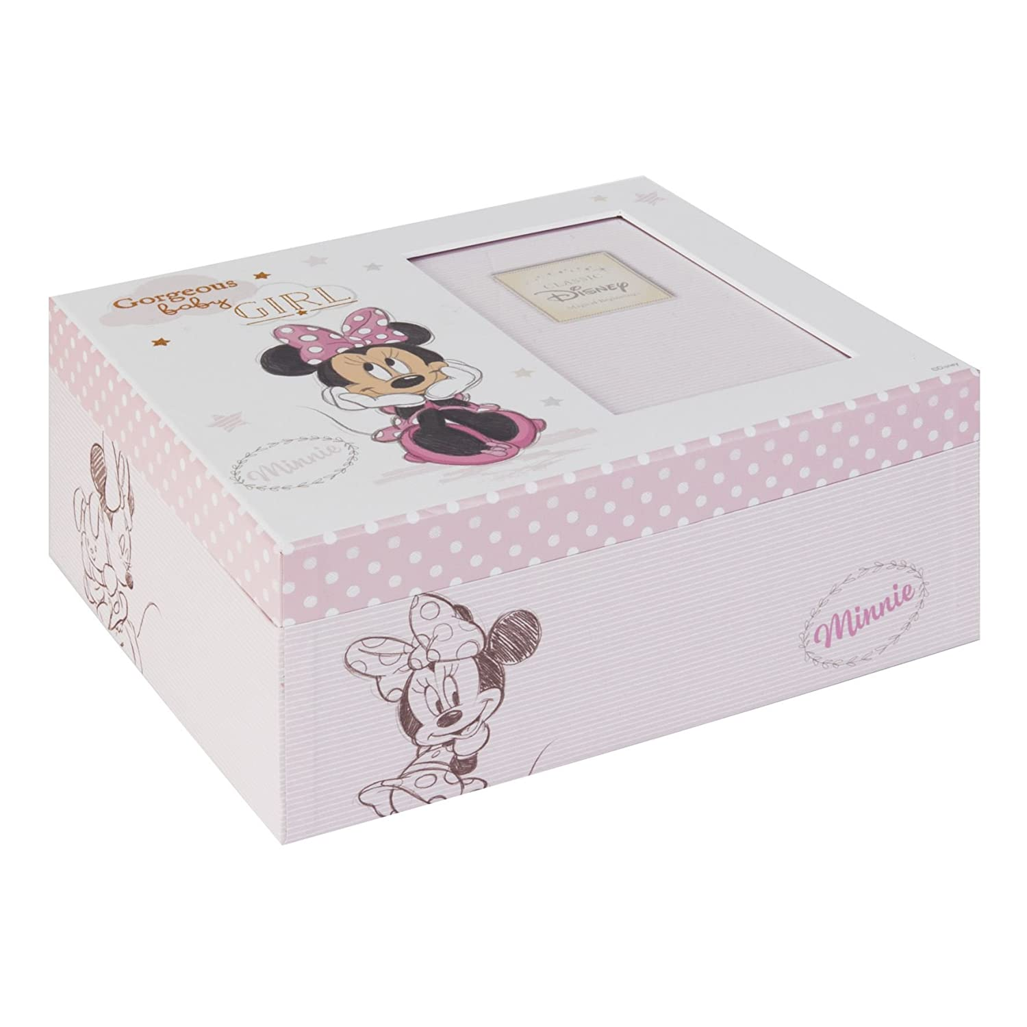 Disney Baby Magical Beginnings Keepsake Box Minnie Mouse Baby Girl Widdop & Co
