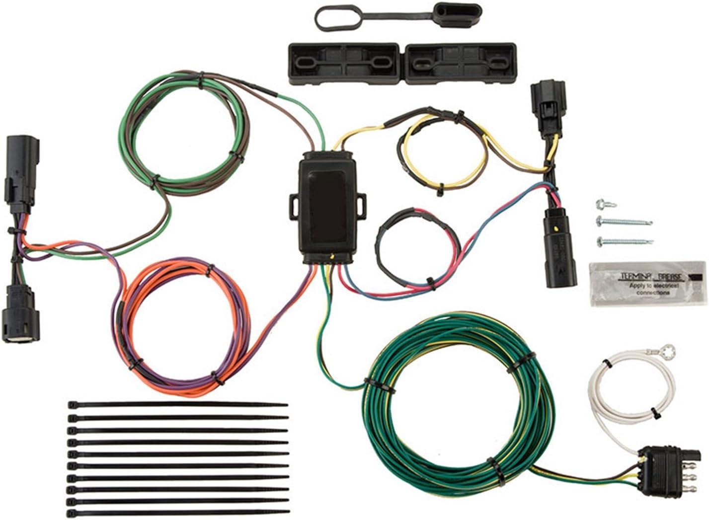 Amazon.com: Blue Ox BX88280 EZ Light Wiring Harness Kit for Ford  Escape/Edge: AutomotiveAmazon.com