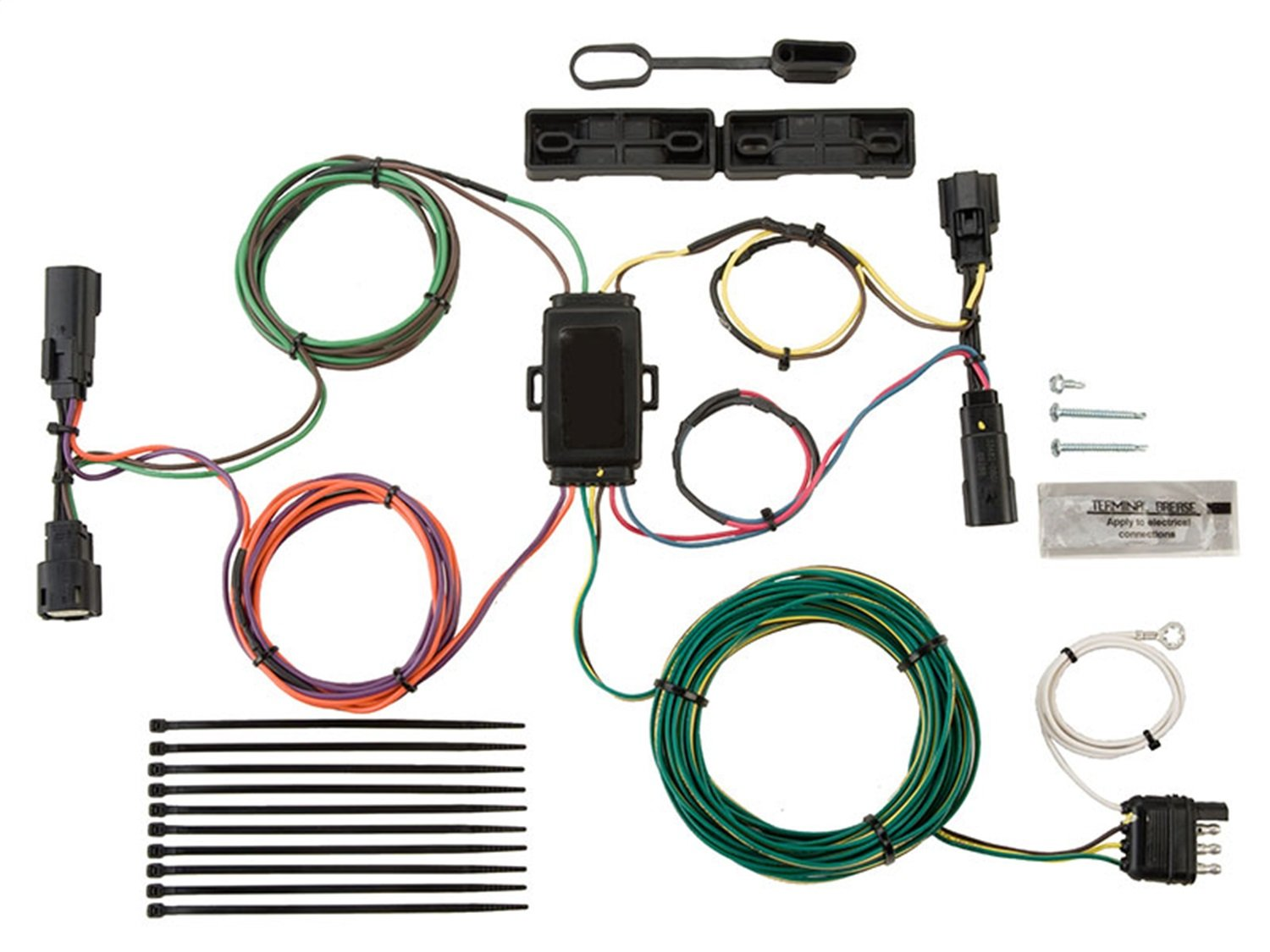 Blue Ox BX88280 EZ Light Wiring Harness Kit for Ford Escape/Edge