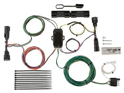 amazon com blue ox bx88280 ez light wiring harness kit for ford 4-wire plug wiring blue ox bx88280 ez light wiring harness kit for ford escape edge