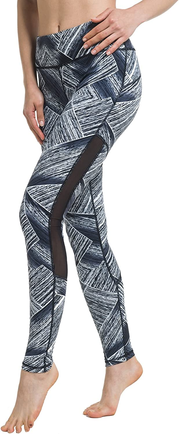 Zeronic Womens High Waist Stirrup Leggings Tights Gym Workout Yoga Pants