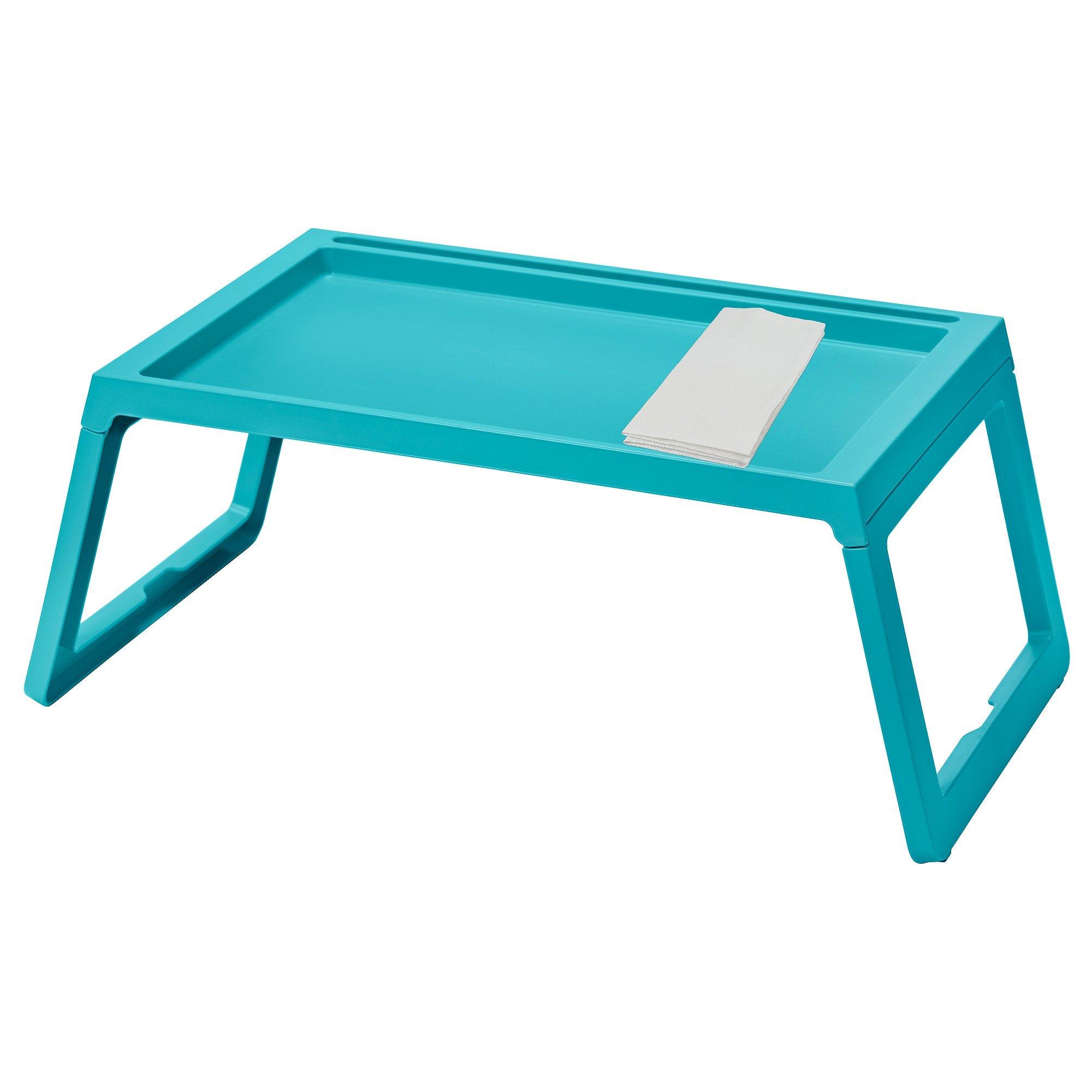 IKEA TV Tray KLIPSK Bed Tray, Turquoise by Klipsk