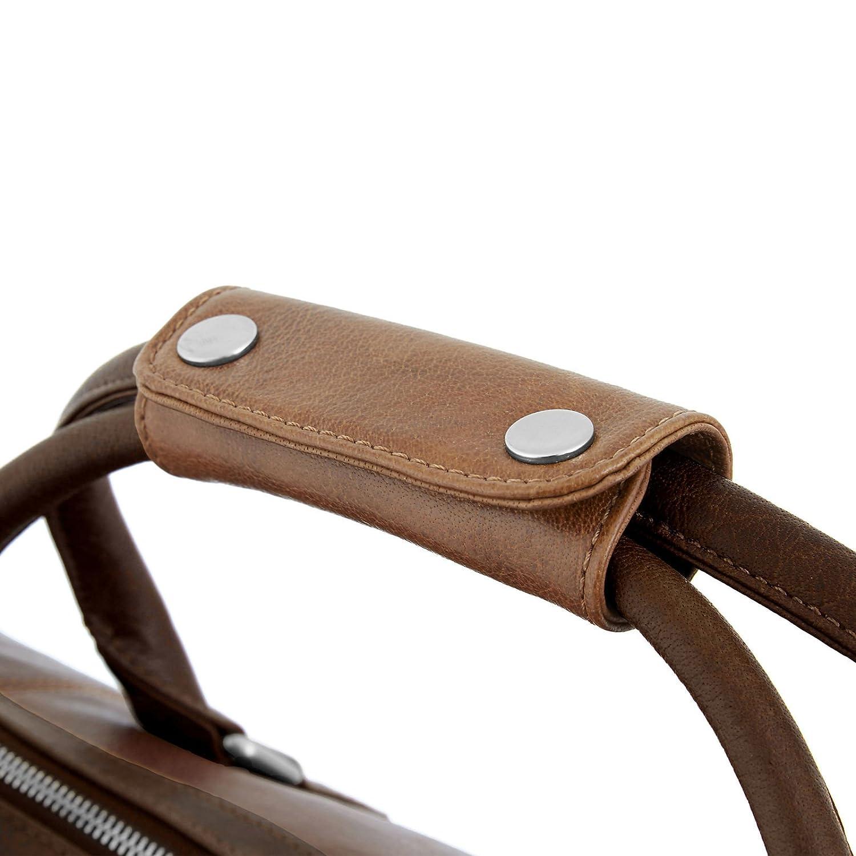 Bolsa de fin de semana California marrón y canela: Amazon.es: Ropa y accesorios