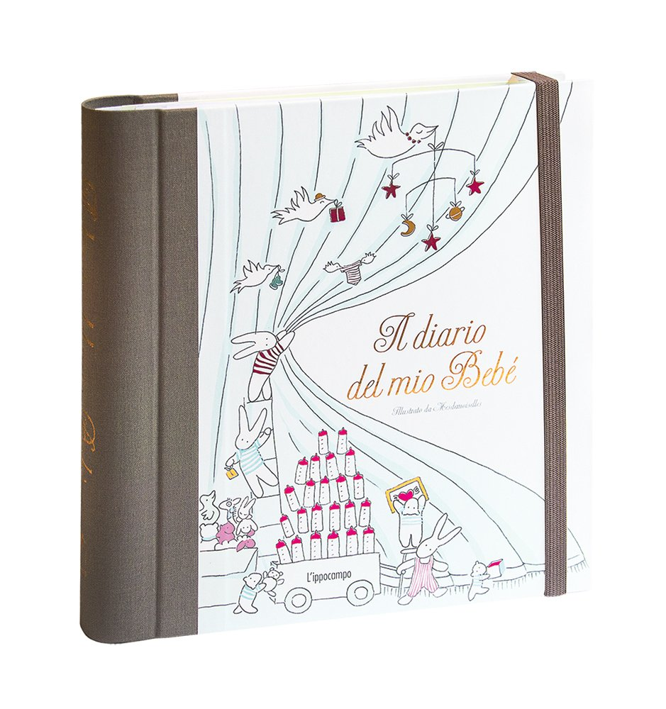Ben noto Il diario del mio bebé: Amazon.it: Mesdemoiselles: Libri SE72