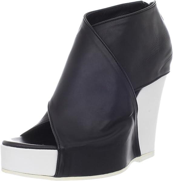f2be53613681 Ann Demeulemeester Women s Platform Wedge Sandal