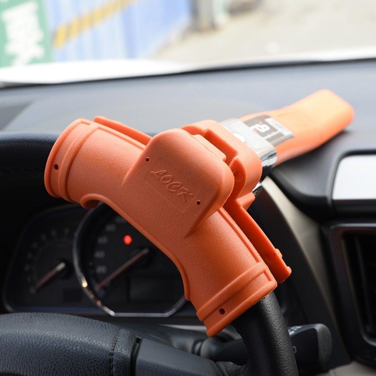 Steering Wheel Lock Vehicle Car Security Keyed Lock Anti Theft New by Apontus (Image #4)
