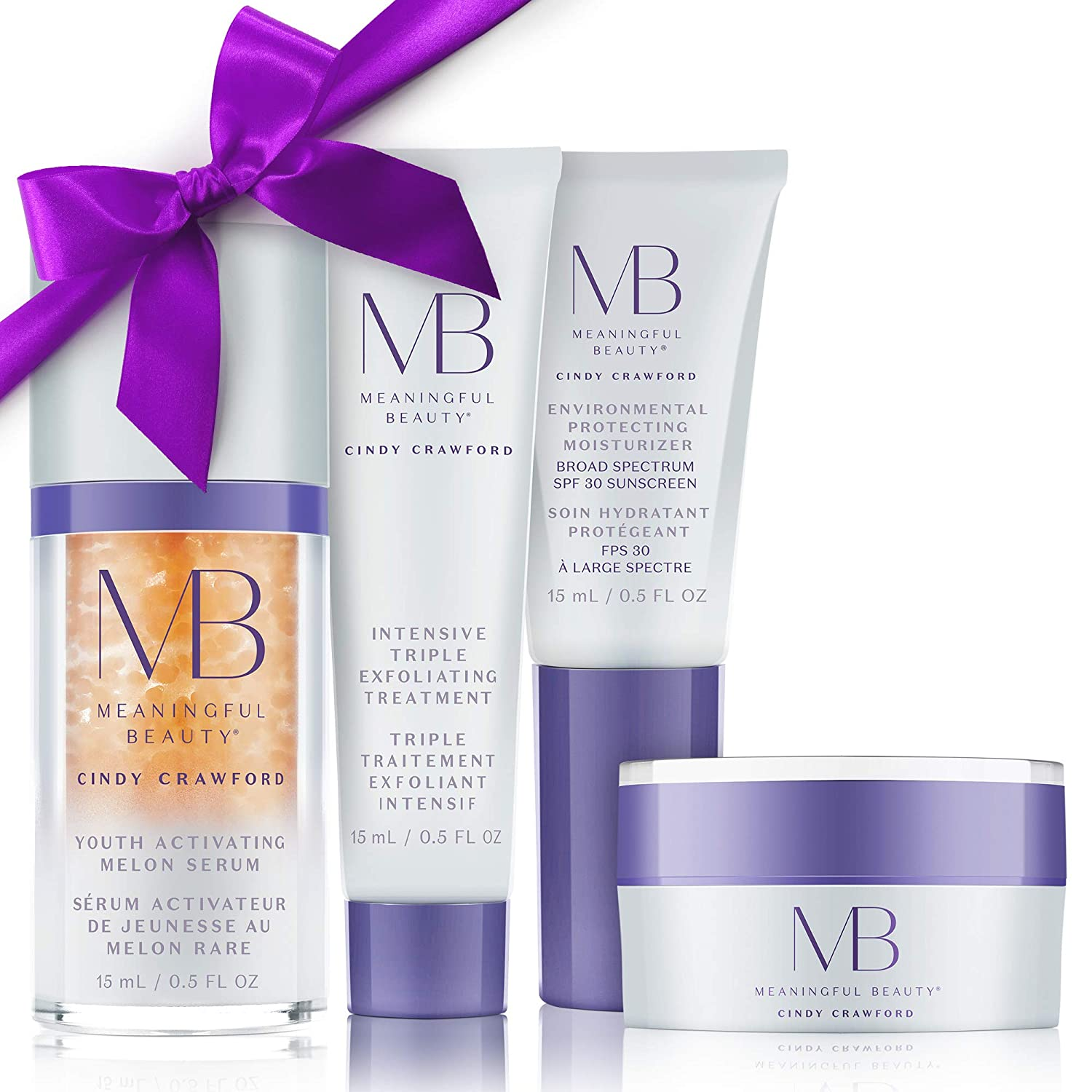 Meaningful BeautyAnti-Aging Daily Skincare System , for Smoothing, Even Skin Tone & Radiance , MT.2110