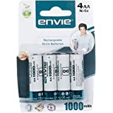 Envie Rechargeable Battery AA 1000 4PL Ni-CD