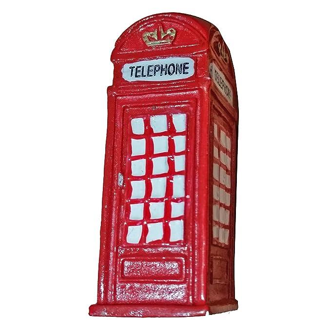 Imán Nevera Caja de Teléfono Roja de Londres - Recuerdo Británico ...