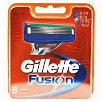 Gillette Fusion 80201236 Pack of 8 Razor Blades