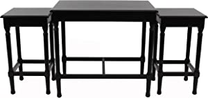 Decor Therapy Nesting Tables, Black