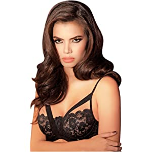 Amawi Sereus Lingerie for Women Mesh Bra Panty Set Ropa Interior Para Mujer