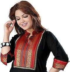 Unifiedclothes Women Fashion Printed Short Indian Kurti Tunic Kurta Top Shirt Dress EX01B