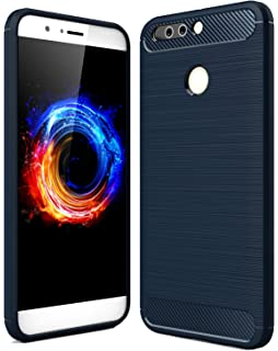 Honor 8 pro navy blue 6gb ram 128gb memory amazon electronics golden sand armor shockproof case for huawei honor 8 pro mobile phone 2017 premium protection fandeluxe Gallery