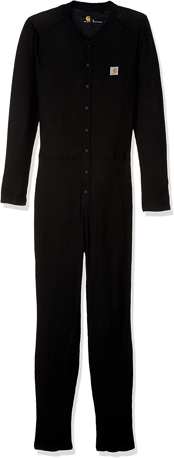 Carhartt Mens Force Classic Thermal Base Layer Union Suit
