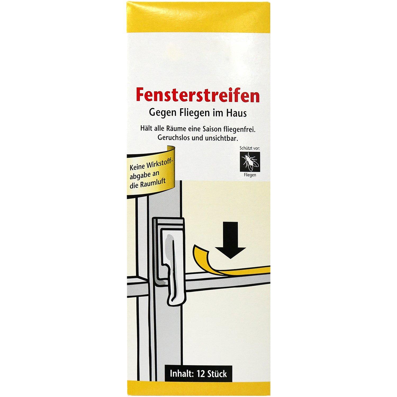 com-four 36x Fliegenstreifen, Fliegen-Fensterstreifen, gegen Fliegen ...