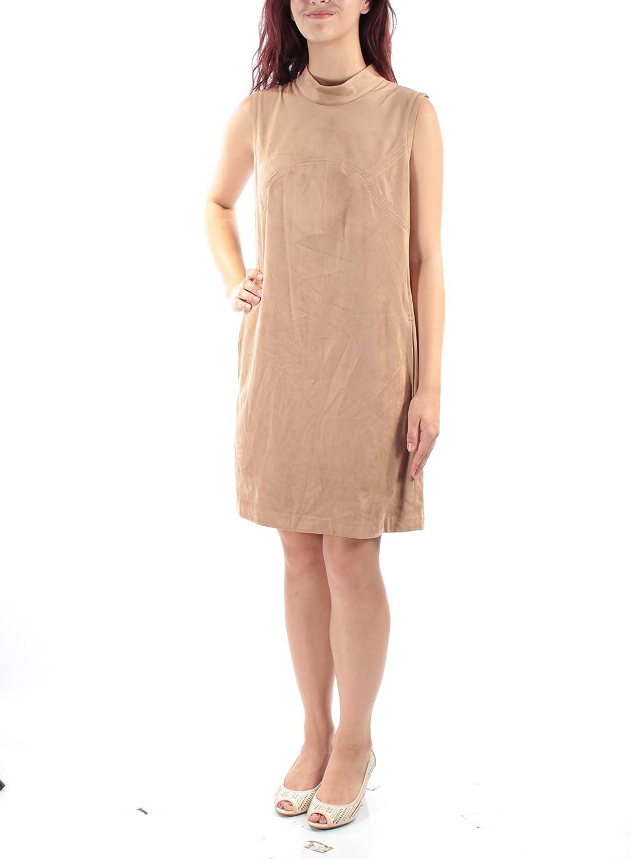 Alfani Womens Regular discount Faux Suede Dress Shift Tulsa Mall