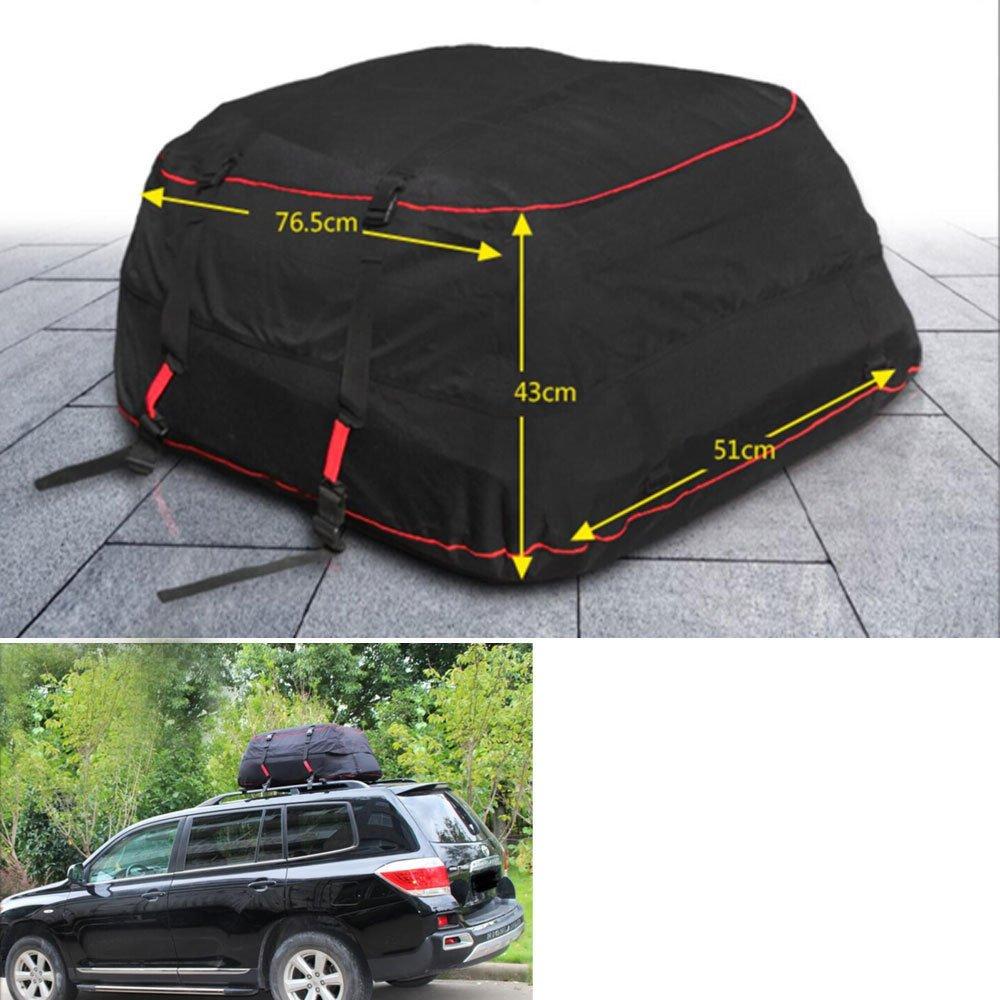 Nicebee Universal Car Roof Top Bag Rack Cargo Carrier Luggage Storage Bag Travel Waterproof For SUV VAN