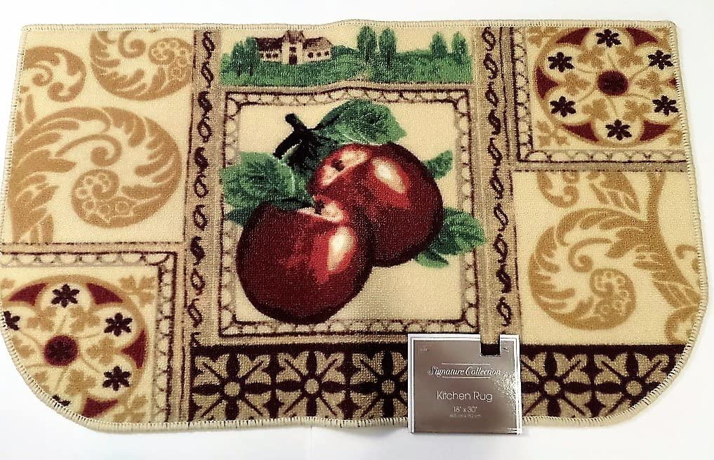Signature Collection Apples Kitchen Rug