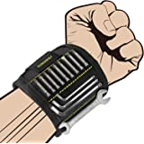 Magnetic Wristband, KUSONKEY Tool Belt with 15 Powerful Magnets for Holding Screws/Nails/Drill Bits, Versatile Christmas…