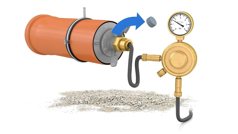 L/änge: 100mm 60-77mm bis 0,5 bar EPDM//PVC Schnellverschlussstopfen CSV 70 PVC;