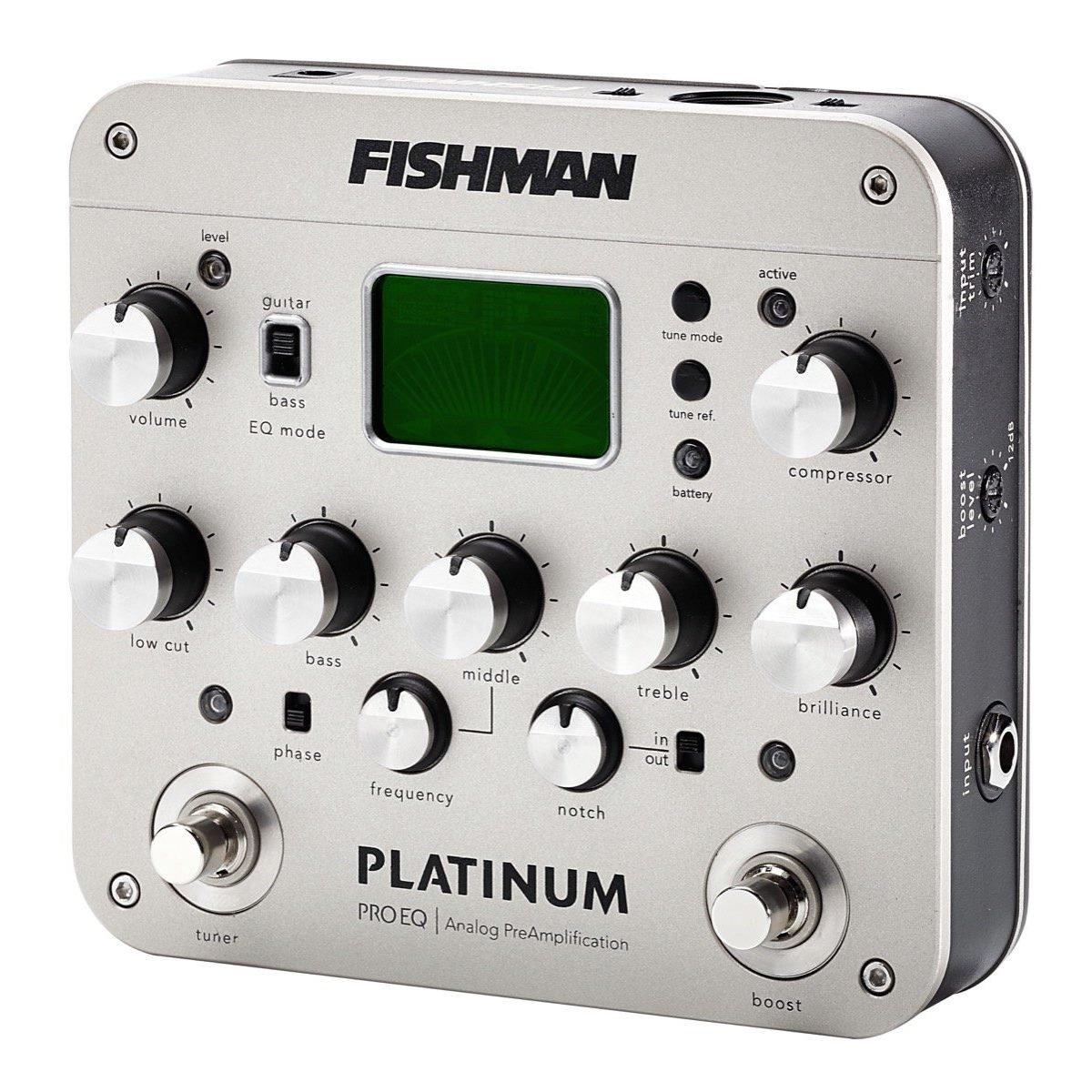Fishman Platinum Pro EQ/DI Analog Preamp Pedal
