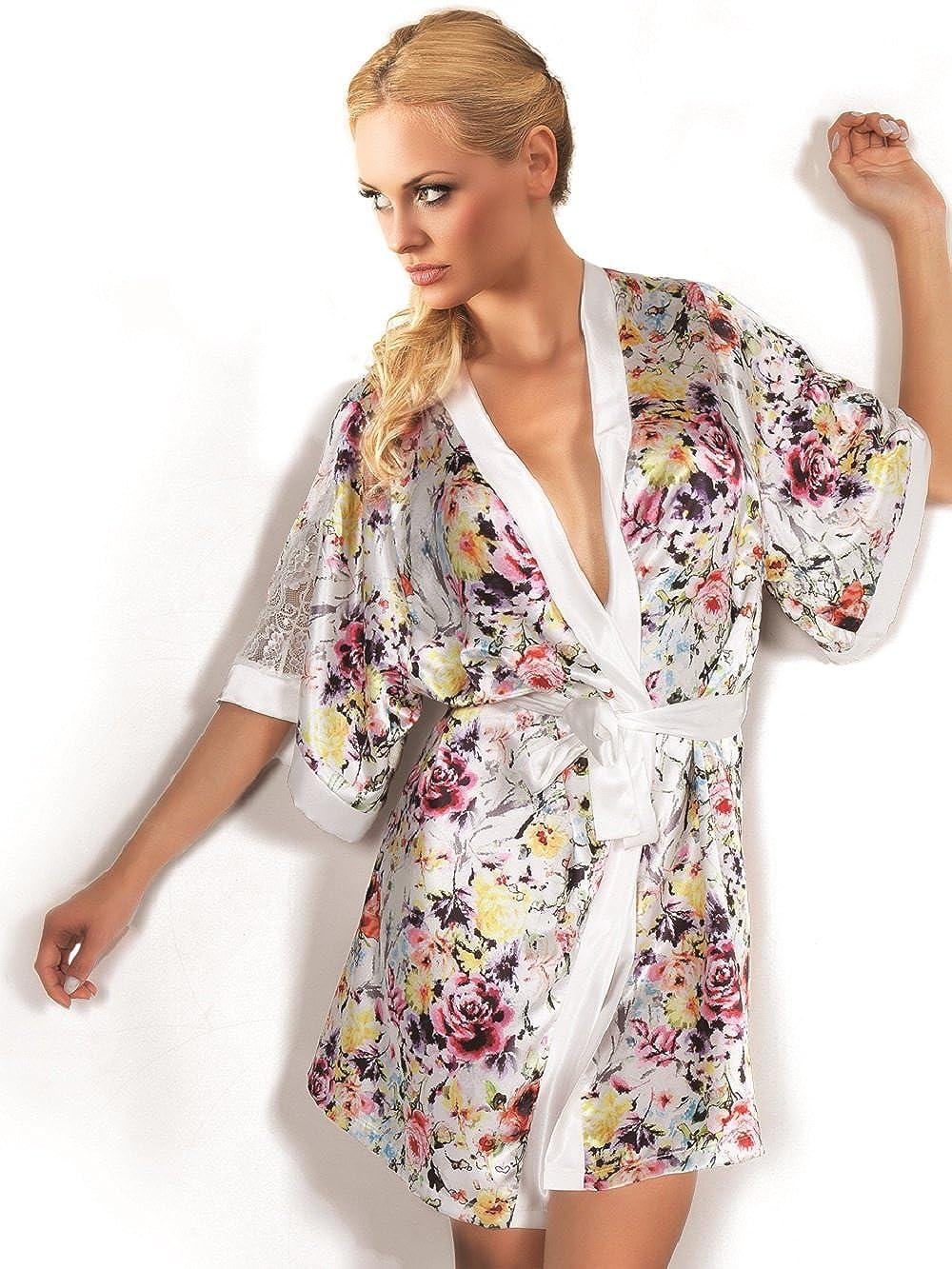 Donna Vestaglia e Kimono Floral Print