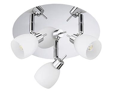 Plafoniere Da Soffitto Per Bagno : Trango bracci lampada da soffitto plafoniera faretto per