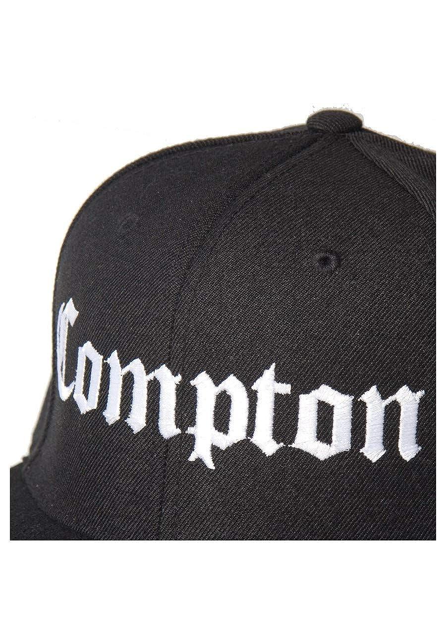cad4d06287a9 Magic Custom - Casquette Snapback Compton - Noir - Taille Ajustable   Amazon.fr  Vêtements et accessoires